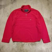 "1990's ""Polo Sport"" Half-Zip Fleece Jacket SIZE : L位"