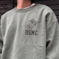 """USMC"" Sweat Shirt SIZE : L"