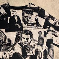 "1990's ""James Dean"" Short Sleeve Tee SIZE : L"