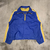 "1970's ""Nike"" Nylon Pull-Over SIZE : L"
