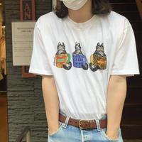 "1990's ""Crazy Shirt"" B.Kliban Cat Art Tee SIZE : L"