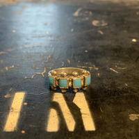 "1950's ""Navajo"" Vintage Silver Ring SIZE : 15号"