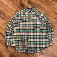 "1990's ""Tommy Hilfiger"" Buttondown Shirt Dead Stock SIZE : L"