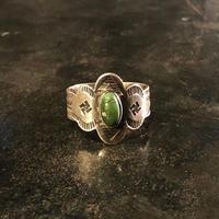 "1920's ""Navajo"" Swastika Ring SIZE : 19.5号"