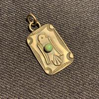 "1920's ""Navajo"" Thunderbird Necklace Top"