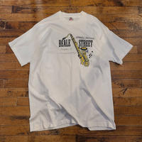 "1990's ""BEALE STREET"" Jazz T-Shirt SIZE : XL"