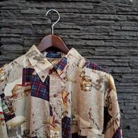 """1990's""""CHAPS"""" Ralph Lauren B/DShirt SIZE : XL"""