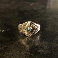 "1930's ""Navajo"" Vintage Ring SIZE : 21号位"