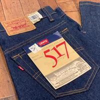 "1990's ""Levi's"" 517 Dead Stock SIZE : W33.5 L30"