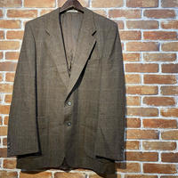 "1980's ""YVES SAINT LAURENT"" Wool Tailored Jacket SIZE : L"