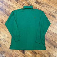 "1990's ""Polo by Ralph Lauren"" Turtle-Neck Tee SIZE : L"