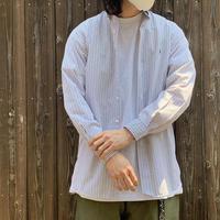 """1990's """"Ralph Lauren"""" B/D Cotton Broad Shirt MCMELL SIZE : S"""