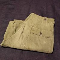 """1950's """"U.S.Military"""" M-47 HBT Baker Pants SIZE : W33 L30"""