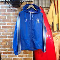 "1980's""adidas"" Air Force Academy Nylon Parka SIZE : M~L"