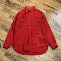 """1970's 'PENDLETON"""" Wool Shirt SIZE : M"""