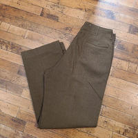"""1940's """"U.S.Military"""" Wool Trousers SIZE : 34×35"""