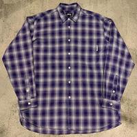 "1980's ""Stussy"" Cotton Shirt SIZE : XL位"