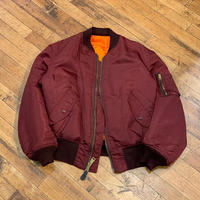 "1990's ""ALPHA"" MA-1 Flight Jacket SIZE : M"