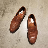 """Alden"" 3556 Burnished Dark Tan Plaza Slip On SIZE : 9 D"