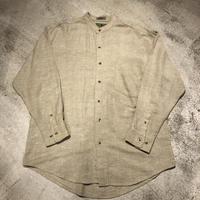 """Rovert Stock"" Cotton Linen Shirts SIZE : L"