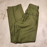 "1960's "" U.S.Military "" Baker Pants Dead Stock SIZE : W28 L32"