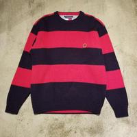 "1990's""TOMMY HILFIGER"" Cotton Knit Sweater SIZE : L"