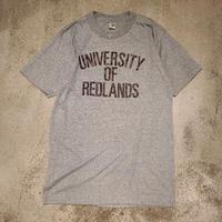 "1980's ""Artex"" University Of Redlands Tee SIZE : L"