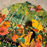 "~1990's ""JAMS WORLD"" Hawaiian Shirt SIZE : L"