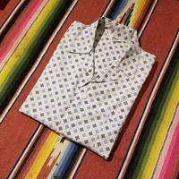"1960's ""Aristocrat"" Pajama Shirt SIZE : L"