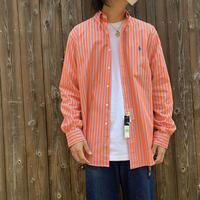 """New """"Ralph Lauren"""" B/D Cotton Broad Shirt Classic Fit SIZE : L"""