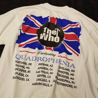 """1990's """"THE WHO"""" Tour Tee SIZE : L"""