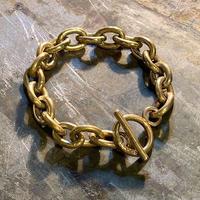 """New """"Bayson × Mllieyan"""" Brass Chain Bracelet SIZE : 16cm/17cm/18cm"""