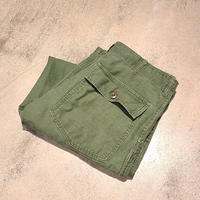"1970's ""U.S.Military"" Baker Pants SIZE : W33 L29"