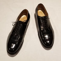 """1970's """"US.Navy"""" Service Shoes SIZE : 10R"""