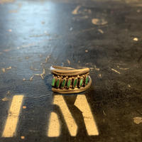 "1970's ""Navajo"" Vintage Silver Ring SIZE : 14号"