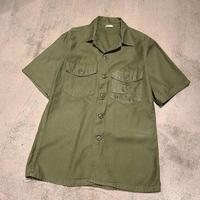 "~1970's ""U.S.MC"" Utility Shirt SIZE : 15 1/2"