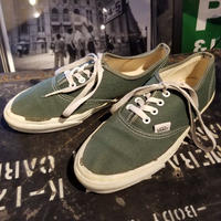 "1990's ""VANS"" Authentic SIZE : Ladies 8"