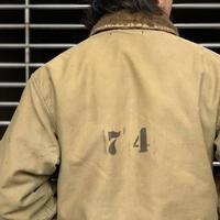 "1940's ""U.S.Navy"" Type N-1 Deck jacket SIZE : 40"