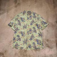 """reyn spooner"" S/S Pullover Hawaiian Shirt SIZE : L"