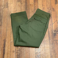 "1980's ""U.S.Military"" Baker Pants SIZE : W32 L28.5"