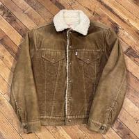 """1970's """"Levi's"""" Boa Jacket SIZE : 36"""