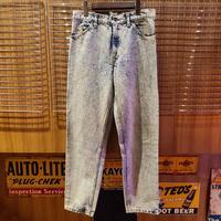 "1990's ""Levi's"" 550 Made In U.S.A SIZE : W30.5 L29.5"