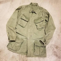 "1960's ""U.S.Army"" Jungle Fatigue Jacket 3rd Type SIZE : S-R"
