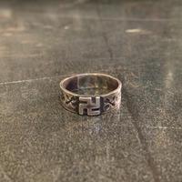 "1930's ""Navajo"" Vintage Ring SIZE : 19号位"