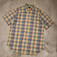 "1990's ""Ralph Lauren"" Short Sleeve Shirt SIZE : M"