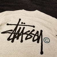 "1990's ""STUSSY"" S/S Tee Dead Stock SIZE : L"
