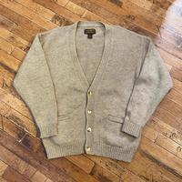 "1990's""Eddie Bauer"" Wool Knit Cardigan SIZE : L"