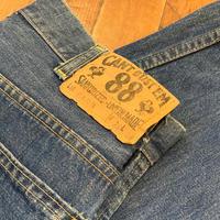 """1960's """"CAN'T BUST'EM"""" Denim Painter Pants SIZE : W28 L26"""