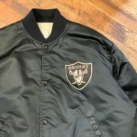 "1990's ""RAIDERS"" Nylon Studium Jacket SIZE : L"