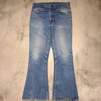 """1970's """"Levi's"""" 646 Bell Bottom Jeans SIZE : W33 L29"""